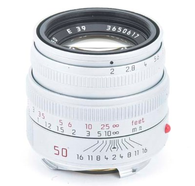 Summicron-M f/2 50mm. no. 3606