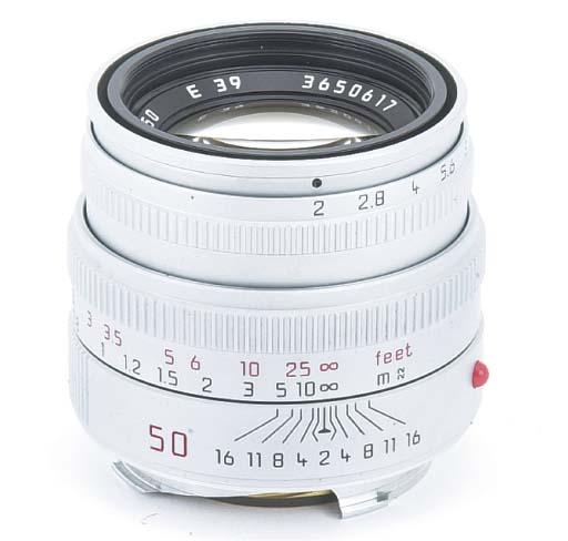 Summicron-M f/2 50mm. no. 3650