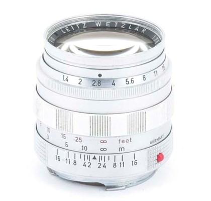 Summilux f/1.4 50mm. no. 17885