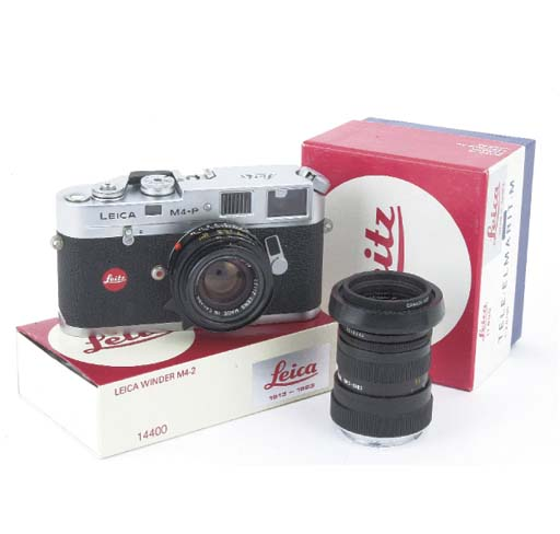 Leica M4-P Anniversary no. 162