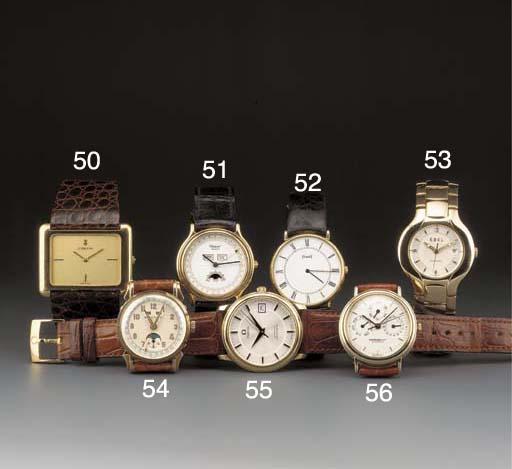 Piaget: An 18ct. gold slim qua