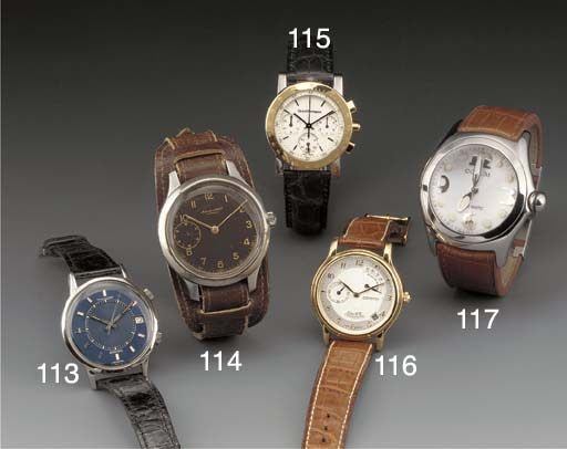 Jaeger-leCoultre: A steel self