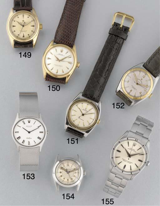 Rolex: An 18ct. gold selfwindi