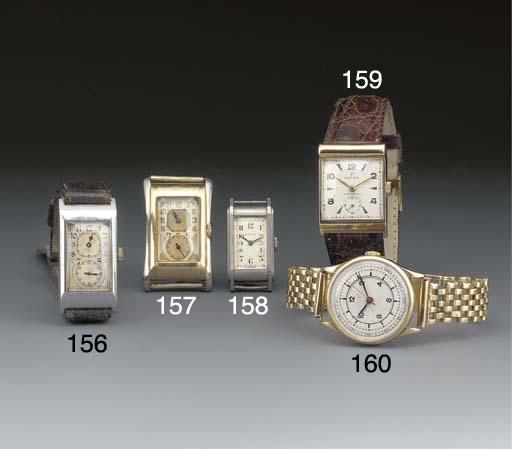 Rolex: A 9ct. two colour gold