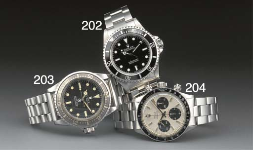 ROLEX: A RARE MILITARY STAINLE