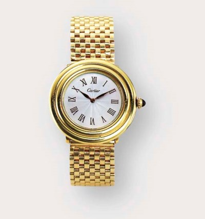 PIAGET. AN 18CT YELLOW GOLD WR
