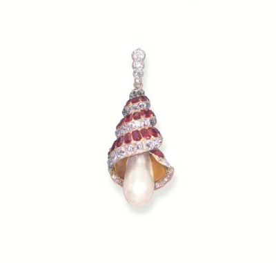 AN ATTRACTIVE NATURAL PEARL, D