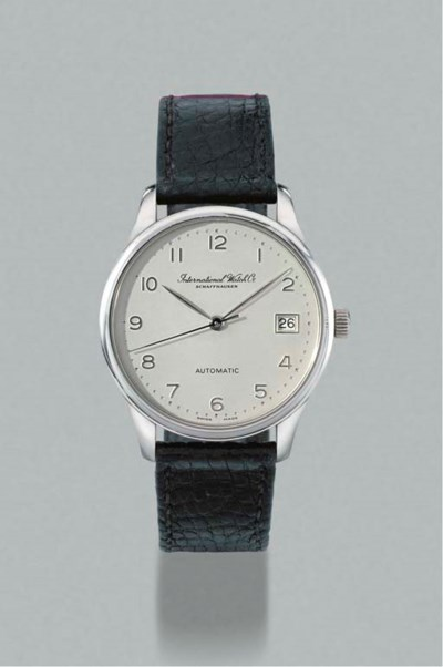 IWC. A fine limited edition pl