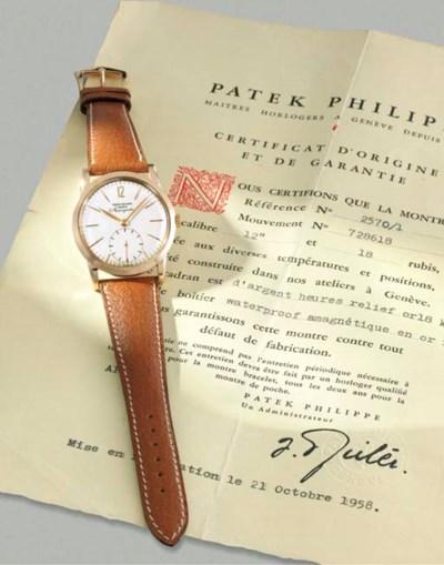 Patek Philippe. A rare 18K pin