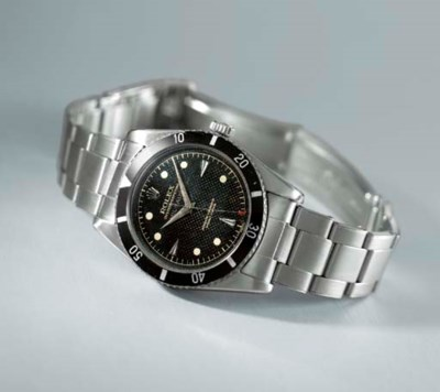 Rolex. A very rare stainless s
