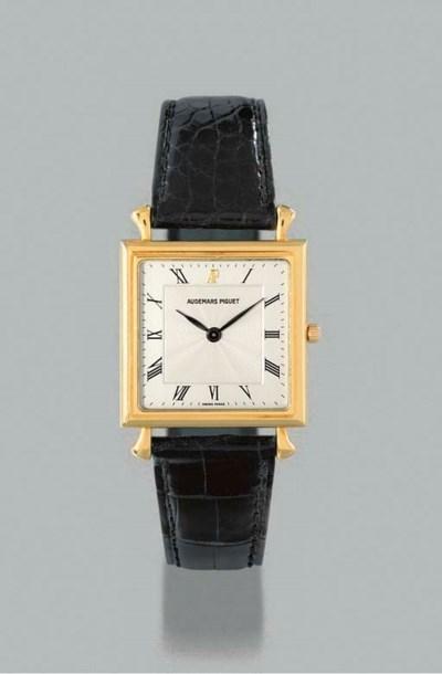 Audemars Piguet. An 18K gold s