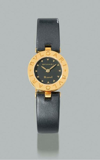 Bulgari. A lady's 18K gold wri