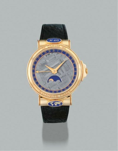 Corum. An 18K gold self-windin