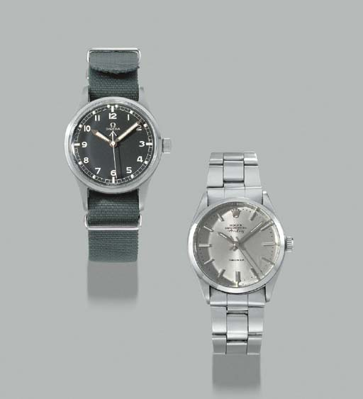 Rolex & Omega. A lot of two st