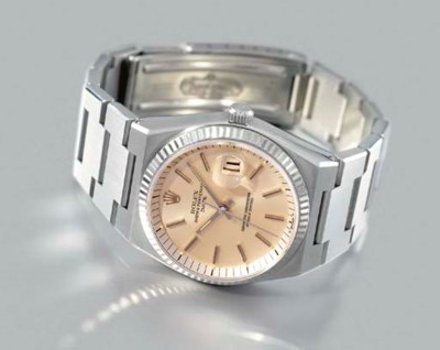 Rolex. A rare and unusual stai