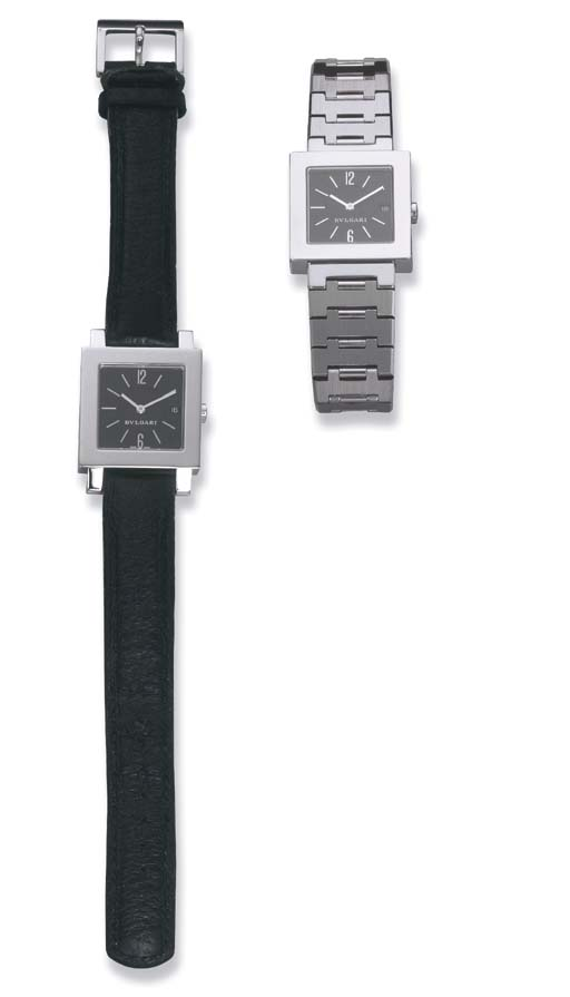 A PAIR OF WRIST WATCHES, BY BU