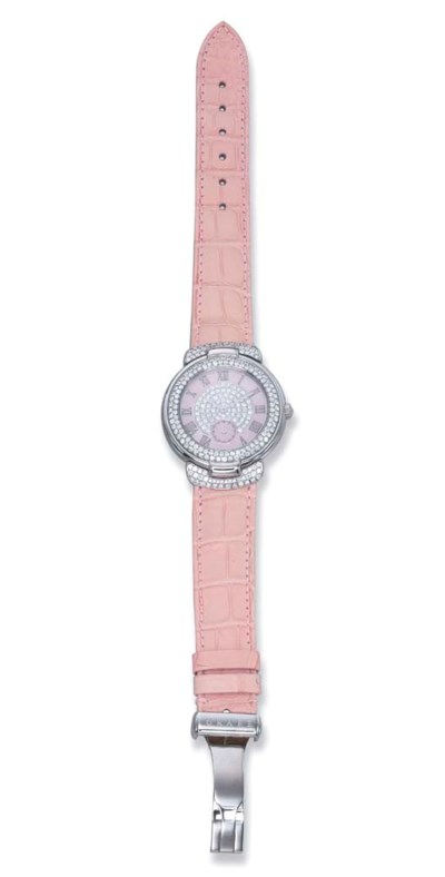 A DIAMOND WRIST WATCH, BY GRAF
