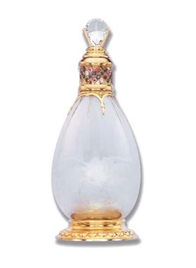 A DIAMOND AND CRYSTAL PERFUME