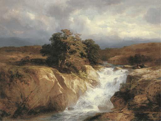 ALEXANDRE CALAME (1810-1864)