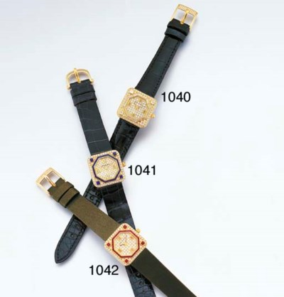 GRAFF. A LADY'S 18K GOLD AND D