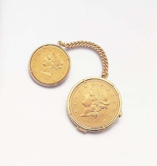 PIAGET. AN 18K GOLD TWENTY DOL