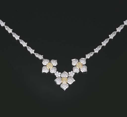 A DIAMOND AND YELLOW DIAMOND N