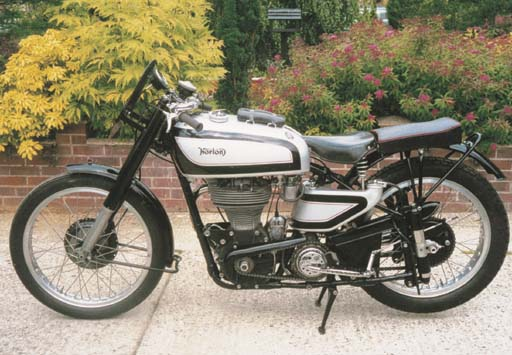 1950 NORTON MANX MODEL 30M MOT