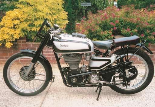 1950 NORTON MANX MODEL 30M MOT