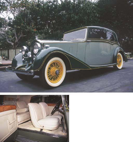 1938 ROLLS-ROYCE 25/30hp TWO D