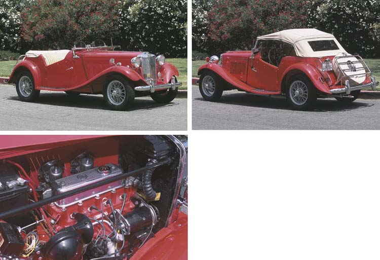 1951 MG TD SPORTS TWO SEATER