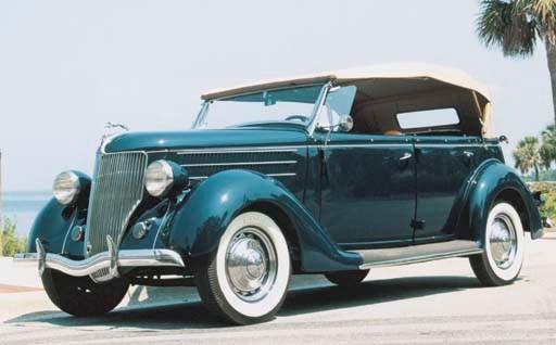 1936 FORD V-8 DELUXE PHAETON