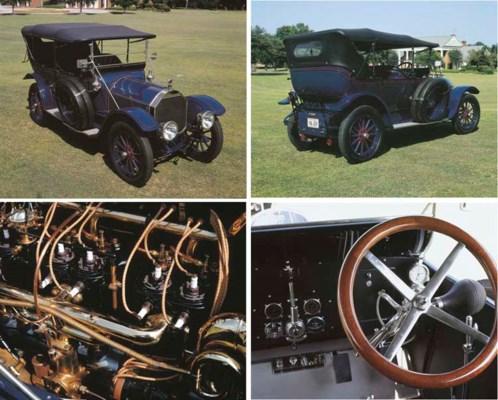 1913 PIERCE-ARROW MODEL 48-B F