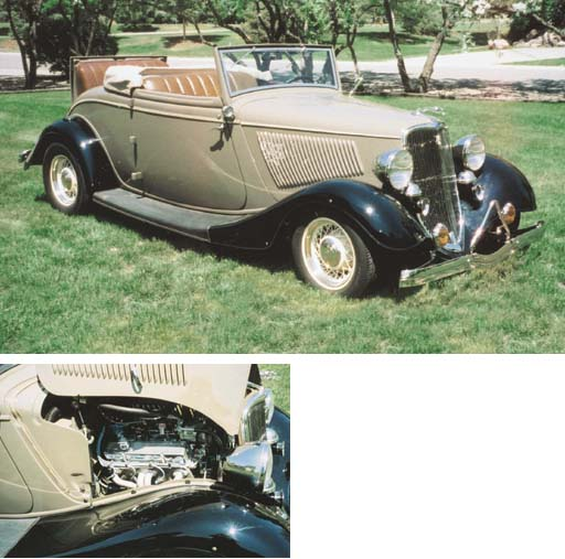 1933 REPLICA FORD DELUXE RUMBL