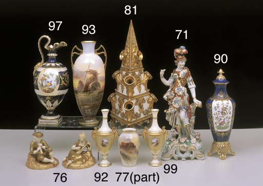 A COLLECTION OF ROYAL WORCESTE