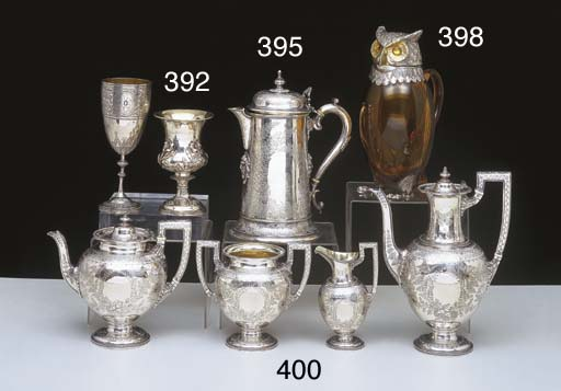A VICTORIAN STERLING SILVER BE