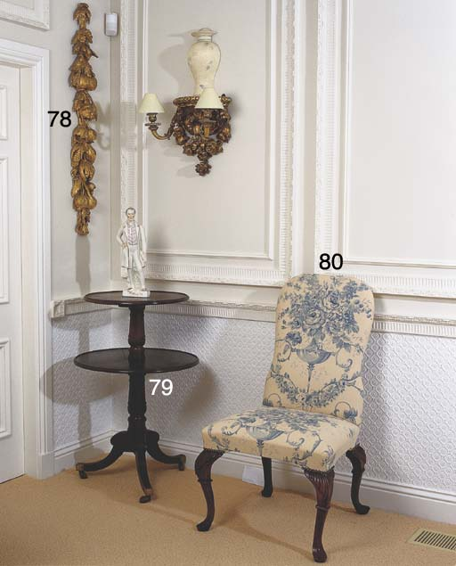 A SET OF TWELVE DINING CHAIRS