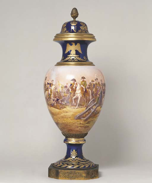 A LARGE NAPOLEON III SEVRES PO