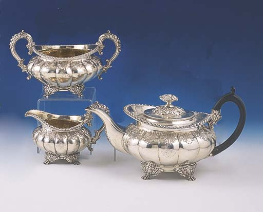 A GEORGE IV STERLING SILVER TH