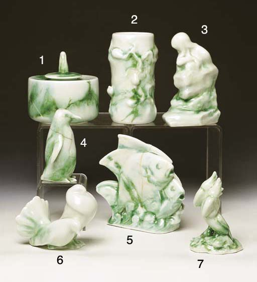 A ROYAL DOULTON 'CHINESE JADE'
