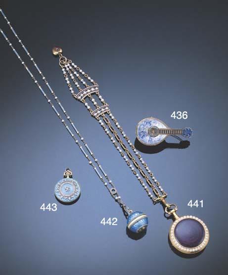 A BELLE EPOQUE DIAMOND AND ENA