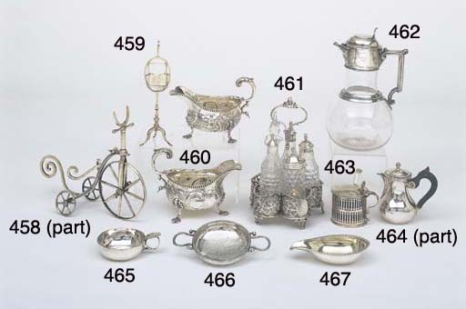 A VICTORIAN STERLING SILVER MO