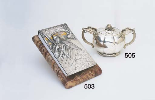A RUSSIAN SILVER TWO HANDLED L
