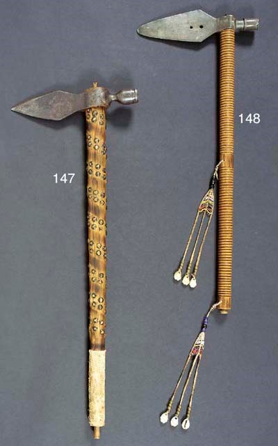 A CHEYENNE PIPE TOMAHAWK