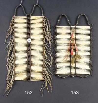 A SIOUX MAN'S BREASTPLATE
