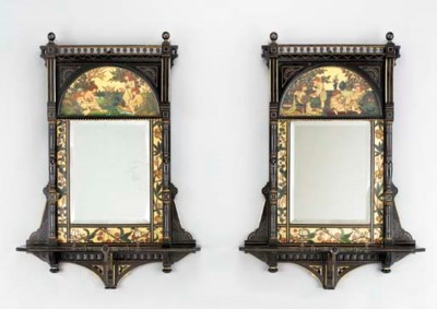 A PAIR OF VICTORIAN AESTHETIC