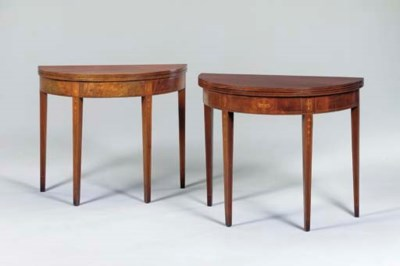 A NEAR PAIR OF GEORGE III STYL