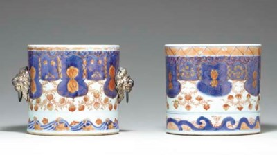 A PAIR OF CHINESE IMARI WINE C