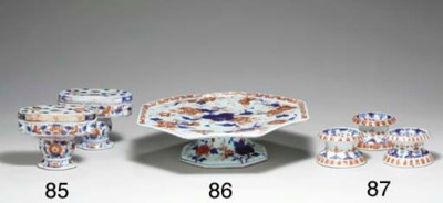 A PAIR OF CHINESE IMARI PEDEST