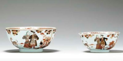 TWO SMALL GOVERNOR DUFF BOWLS