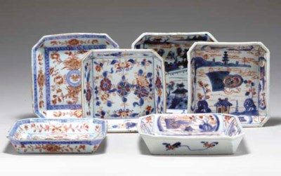 A GROUP OF SIX CHINESE IMARI S
